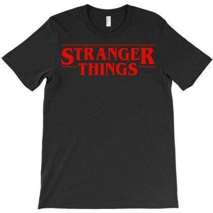 Stranger  Things T-shirt Designed By Gringo