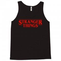 Stranger  Things Tank Top | Artistshot