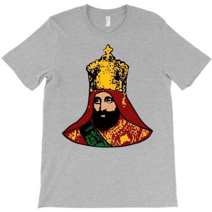 Haile Selassie Emperor Of Ethiopia T-shirt Designed By Davidjfaulkner