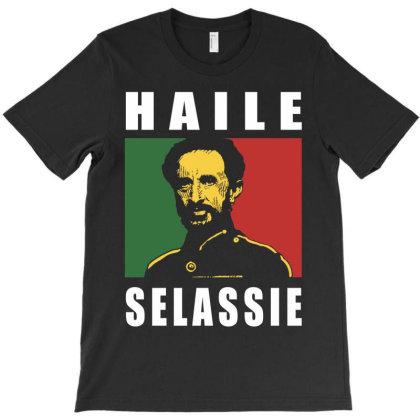 Haile Selassie T-shirt Designed By Davidjfaulkner