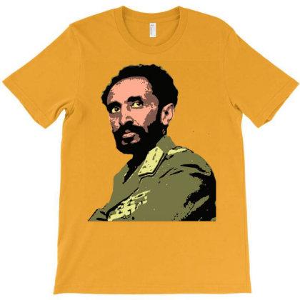 Selassie T-shirt Designed By Davidjfaulkner