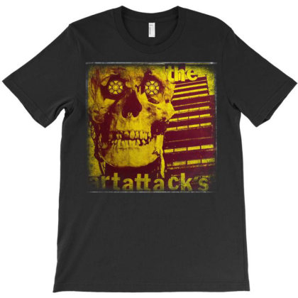 The Art Attacks T-shirt Designed By Lovelouie