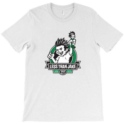 Iki Less Than Jake 20 Years T-shirt Designed By Radeons