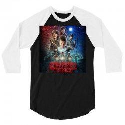 Stranger Things 3/4 Sleeve Shirt   Artistshot