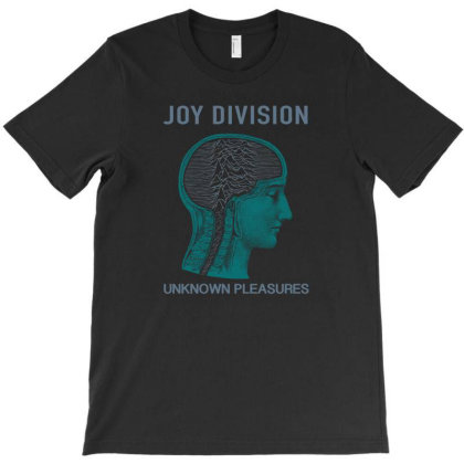 Joy Division Unknown Pleasures T-shirt Designed By Adaptionate