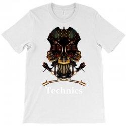 technics dj skull T-Shirt | Artistshot