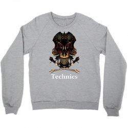 technics dj skull Crewneck Sweatshirt | Artistshot