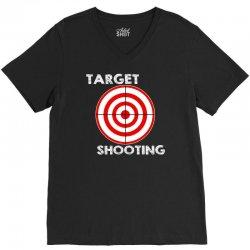 target shooting V-Neck Tee | Artistshot