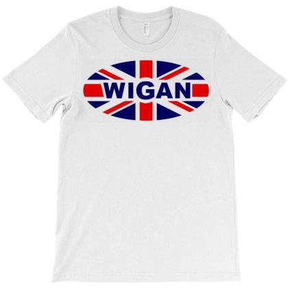 Wigan T-shirt Designed By Charlesagreen