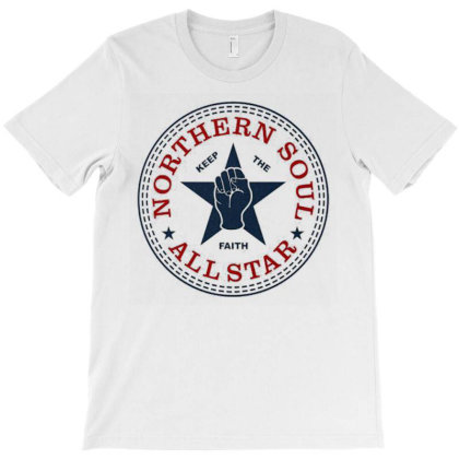 Northern Soul All Star T-shirt Designed By Charlesagreen