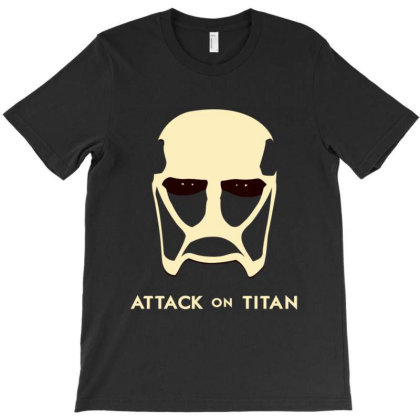 Attack On Titan T-shirt Designed By Sptwro