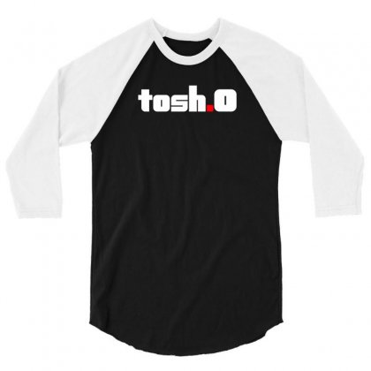 Tosh O Comedy Central 3/4 Sleeve Shirt Designed By Mdk Art
