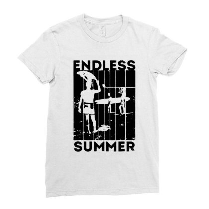 Endless Summer Ladies Fitted T-shirt Designed By Sephia