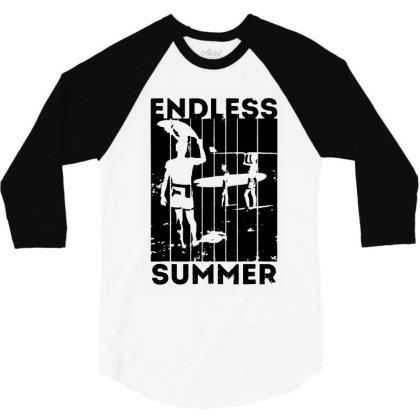 Endless Summer 3/4 Sleeve Shirt Designed By Sephia