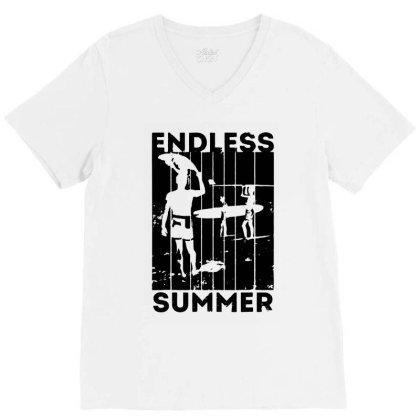 Endless Summer V-neck Tee Designed By Sephia