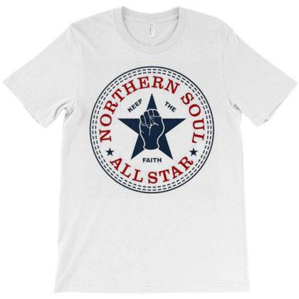 Northern Soul All Star T-shirt Designed By Christophervreichard