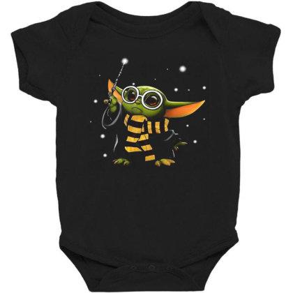 Baby Yoda Harry Potter Baby Bodysuit