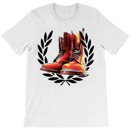 Skinhead Boots T-shirt Designed By Howardrhenderson