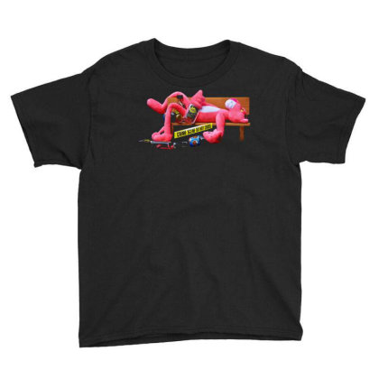 Crime Scene Youth Tee Designed By Tagshirts