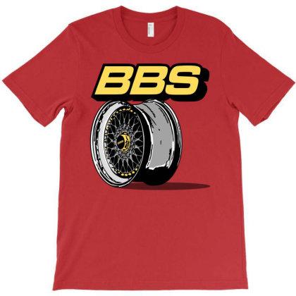 Bbs The Wheel Art T-shirt Designed By Slimrudebwoy