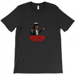 dustin stranger things T-Shirt | Artistshot