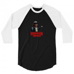 dustin stranger things 3/4 Sleeve Shirt | Artistshot