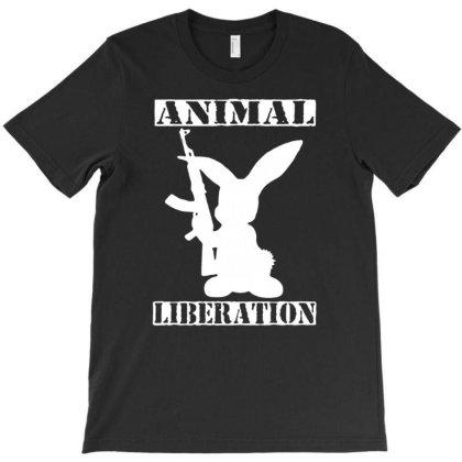 Animal Liberation T-shirt Designed By Sakatiar