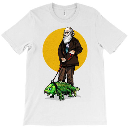 Darwin And Friend Graphic T-shirt Designed By Sakatiar