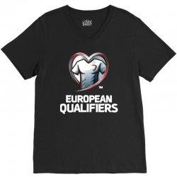 european qualifiers 2016 V-Neck Tee   Artistshot