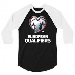 european qualifiers 2016 3/4 Sleeve Shirt   Artistshot
