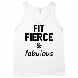 Fit Fierce and Fabulous Tank Top | Artistshot
