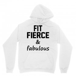 Fit Fierce and Fabulous Unisex Hoodie | Artistshot