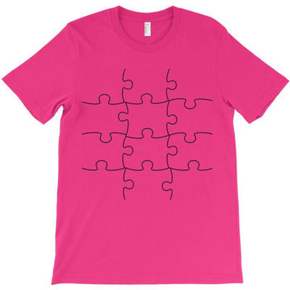 Puzzled T-shirt Designed By Roger Retro