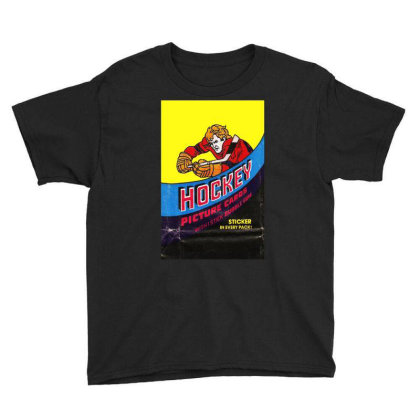 1978 Hockey Card Wrapper Youth Tee Designed By Rs Shop