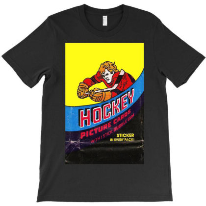 1978 Hockey Card Wrapper T-shirt Designed By Rs Shop