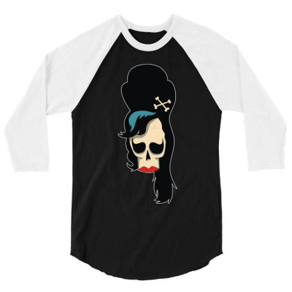 Amy Winehouse (2) 3/4 Sleeve Shirt Designed By Rs Shop