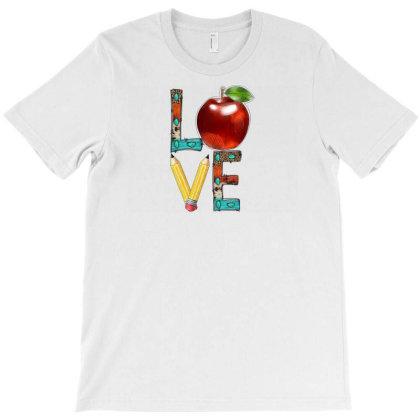 Love Teacher T-shirt Designed By Badaudesign