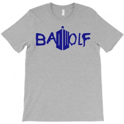 Bad Wolf - Doctor Who T-shirt Designed By Gringo
