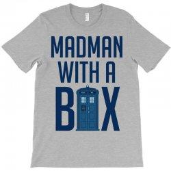 Madman with a box T-Shirt | Artistshot