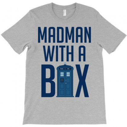 Madman With A Box T-shirt Designed By Gringo