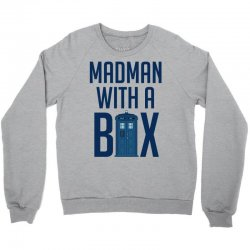 Madman with a box Crewneck Sweatshirt | Artistshot