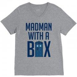 Madman with a box V-Neck Tee | Artistshot