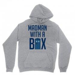 Madman with a box Unisex Hoodie | Artistshot