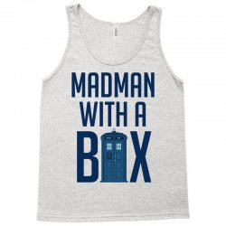 Madman with a box Tank Top | Artistshot