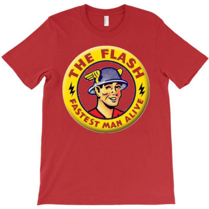 The Flash T-shirt Designed By Roger Retro