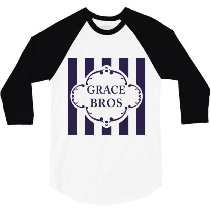 Grace Bros 3/4 Sleeve Shirt Designed By Wowotees