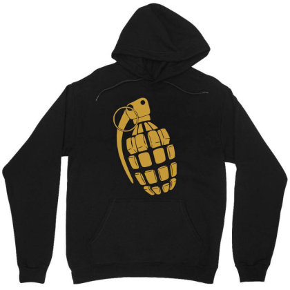 Granate Grenade Waffe Weapon Krieg War Pc Game Classic Usa Army Unisex Hoodie Designed By Wowotees
