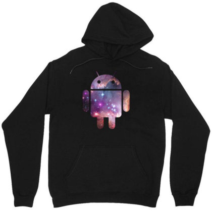 Android Unisex Hoodie Designed By Rs Shop