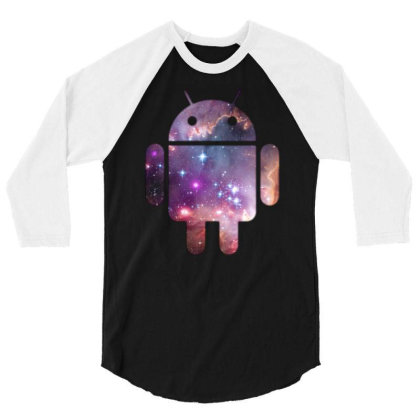 Android 3/4 Sleeve Shirt Designed By Rs Shop