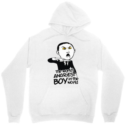 Angriest Boy In The World Unisex Hoodie Designed By Rs Shop
